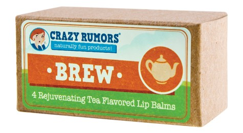 Image of Brew Tea Flavored Lip Balm Gift Set