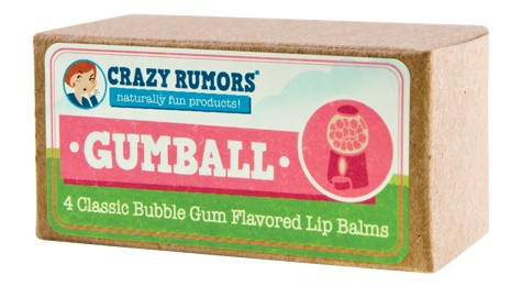 Image of Gumball Bubble Gum Candy Flavored Lip Balm Gift Set