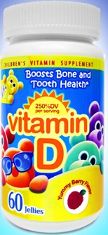 Image of Yum-V's Vitamin D3 1000 IU Chewable Gummies Yummy Berry