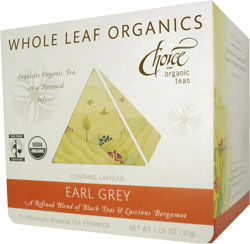 Image of Whole Leaf Organics Earl Grey Tea