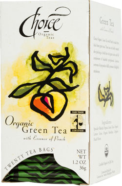 Image of Gourmet Green Tea with Essence of Peach