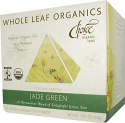 Image of Whole Leaf Organics Jade Green Tea