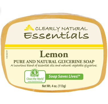 Image of Clearly Natural Glycerine Bar Soaps Lemon