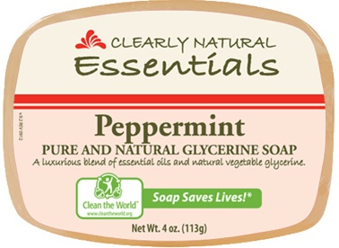 Image of Clearly Natural Glycerine Bar Soaps Peppermint