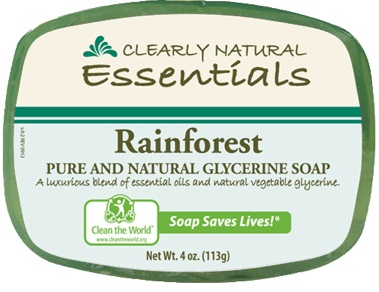 Image of Clearly Natural Glycerine Bar Soaps Rainforest