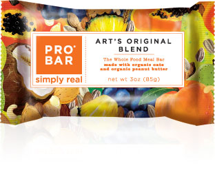 Image of PROBAR Whole Food Meal Bar Art's Original Blend