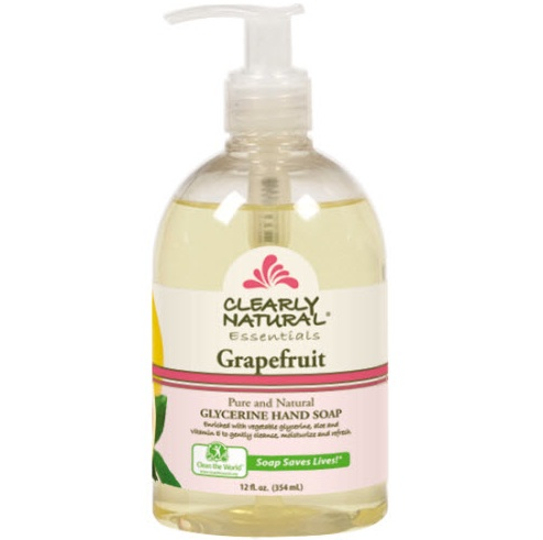 Image of Clearly Natural Liquid Pump Soap-Grapefruit