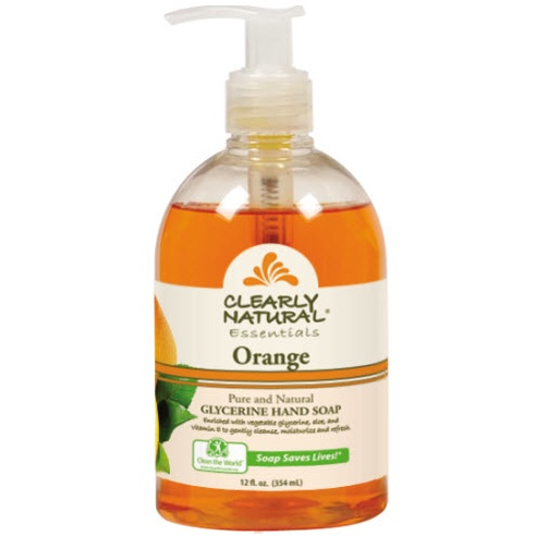Image of Clearly Natural Liquid Pump Soap-Orange