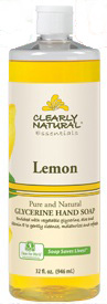 Image of Clearly Natural Liquid Pump Soap-Refill Lemon
