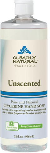 Image of Clearly Natural Liquid Pump Soap-Refill Unscented