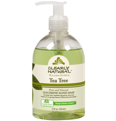 Image of Clearly Natural Liquid Pump Soap-Tea Tree