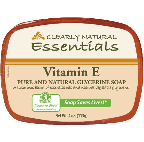 Image of Clearly Natural Glycerine Bar Soaps Vitamin E