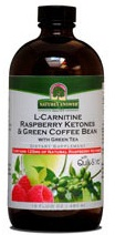 Image of L-Carnitine Raspberry Ketones & Green Coffee Bean Liquid