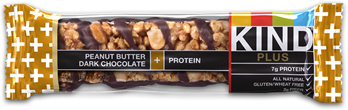 Image of KIND Bar Plus Peanut Butter Dark Chocolate + Protein