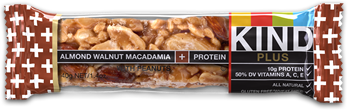 Image of KIND Bar Plus Almond Walnut Macadamia with Peanuts + Protein
