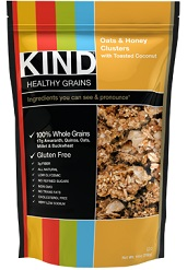 Image of KIND Healthy GrainsOats & Honey Clusters with Toasted Coconut