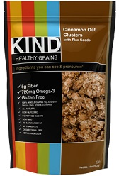 Image of KIND Healthy Grains Cinnamon Oat Clusters with Flax Seeds