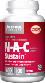 Image of N-A-C Sustain 600 mg