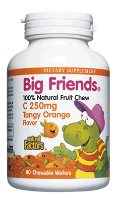 Image of Big Friends Chewable C 250 mg, Tangy Orange