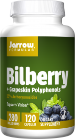 Image of Bilberry + Grapeskin Polyphenols 280 mg