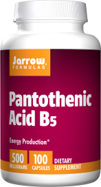Image of Pantothenic Acid B5 500 mg