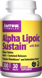 Image of Alpha Lipoic Sustain with Biotin 300 mg/330 mcg