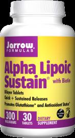 Image of Alpha Lipoic Sustain with Biotin 300 mg/330 mcg