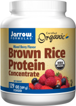 Image of Brown Rice Protein Powder (Mixed Berry Flavor)