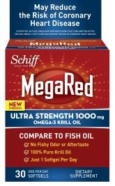 Image of MegaRed Ultra Strength 1000 mg Omega-3 Krill Oil