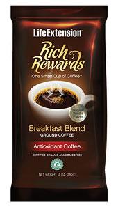 Image of Rich Rewards Breakfast Blend Ground Coffee Natural Vanilla