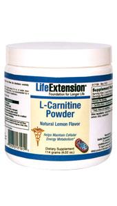 Image of L-Carnitine Powder Natural Lemon