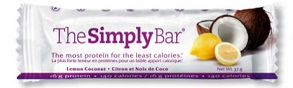 Image of The Simply Bar Lemon Coconut