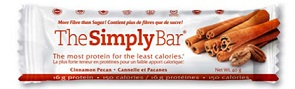 Image of The Simply Bar Cinnamon & Pecan