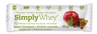 Image of Simply Whey Protein Bar Apple Cinnamon