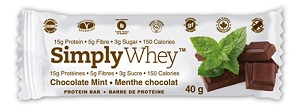 Image of Simply Whey Protein Bar Chocolate Mint