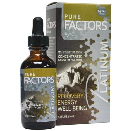 Image of Pure Factors Platinum Cellular ProFormance Complex 44.25 mg  x 6 bottles