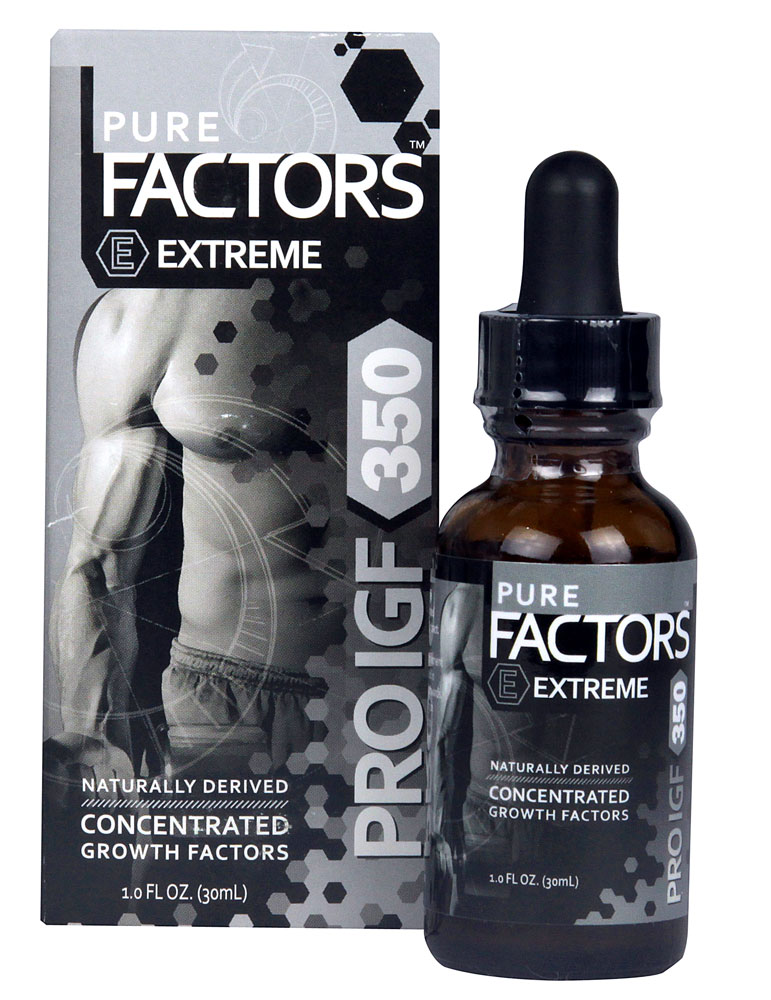 Image of Pure Factors Pro IGF 350  x 6 bottles