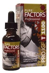 Image of Pure Factors Pro IGF T 1100 x 3 bottles
