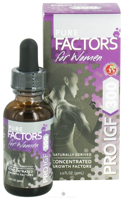 Image of Pure Factors For Women PRO IGF 300 x 6 bottles
