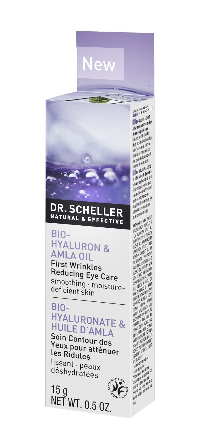 Image of Hyaluron & Amla Oil First Wrinkle Reducing Eye Care Smoothing for Dry Skin