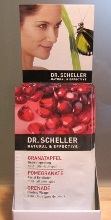 Image of Pomegranate Cleansing Face Exfoliater Sachets Refreshing for Mild All Skin Types