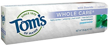 Image of Toothpaste Whole Care (Fluoride) Peppermint