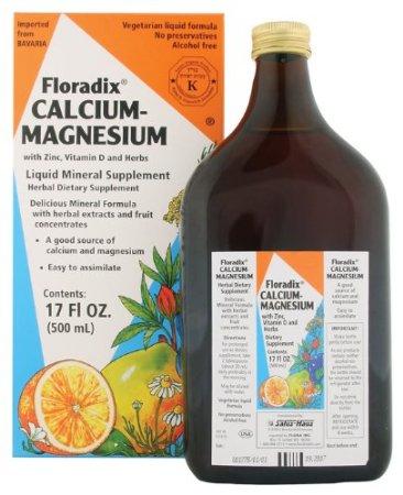 Image of Floradix Calcium-Magnesium with Zinc & Vitamin D