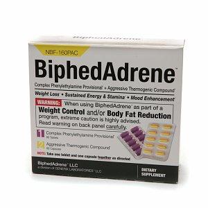 Image of BiphedAdrene x 6 Bottles