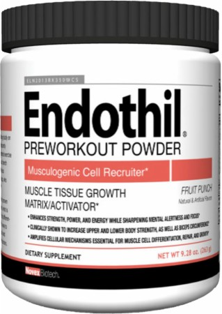 Image of Endothil Powder Fruit Punch x 6 Bottles