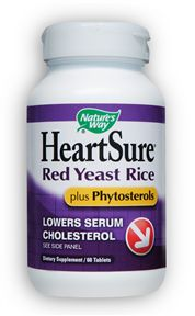 Image of HeartSure Red Yeast Rice plus Phytosterols 600/400 mg