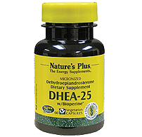 Image of DHEA 25 mg with Bioperine