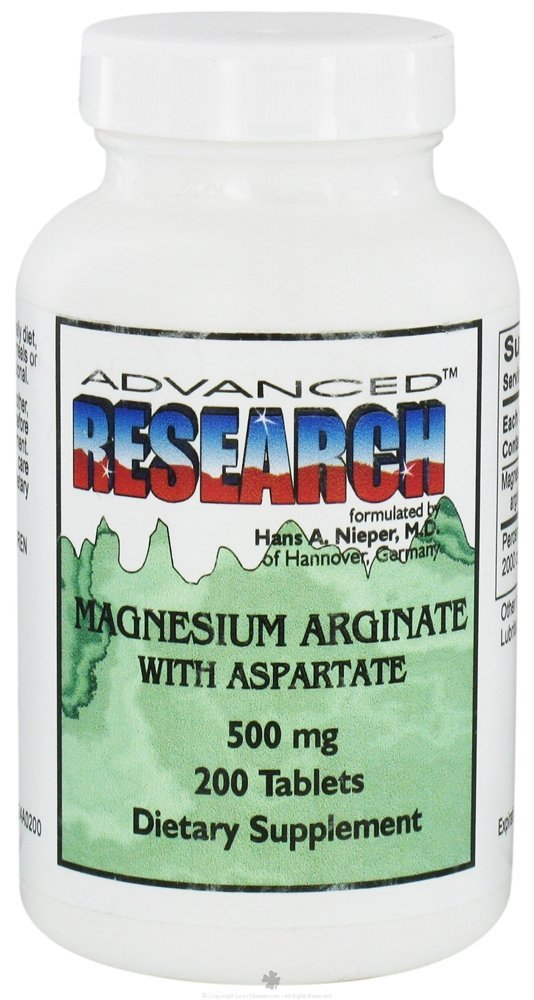 Image of Magnesium Arginate with Aspartate 500 mg.