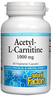 Image of Acetyl-L-Carnitine 1000 mg (500 mg each)