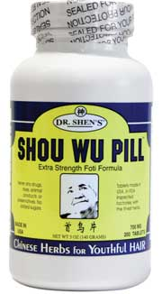 Image of Shou Wu (hair loss formula)